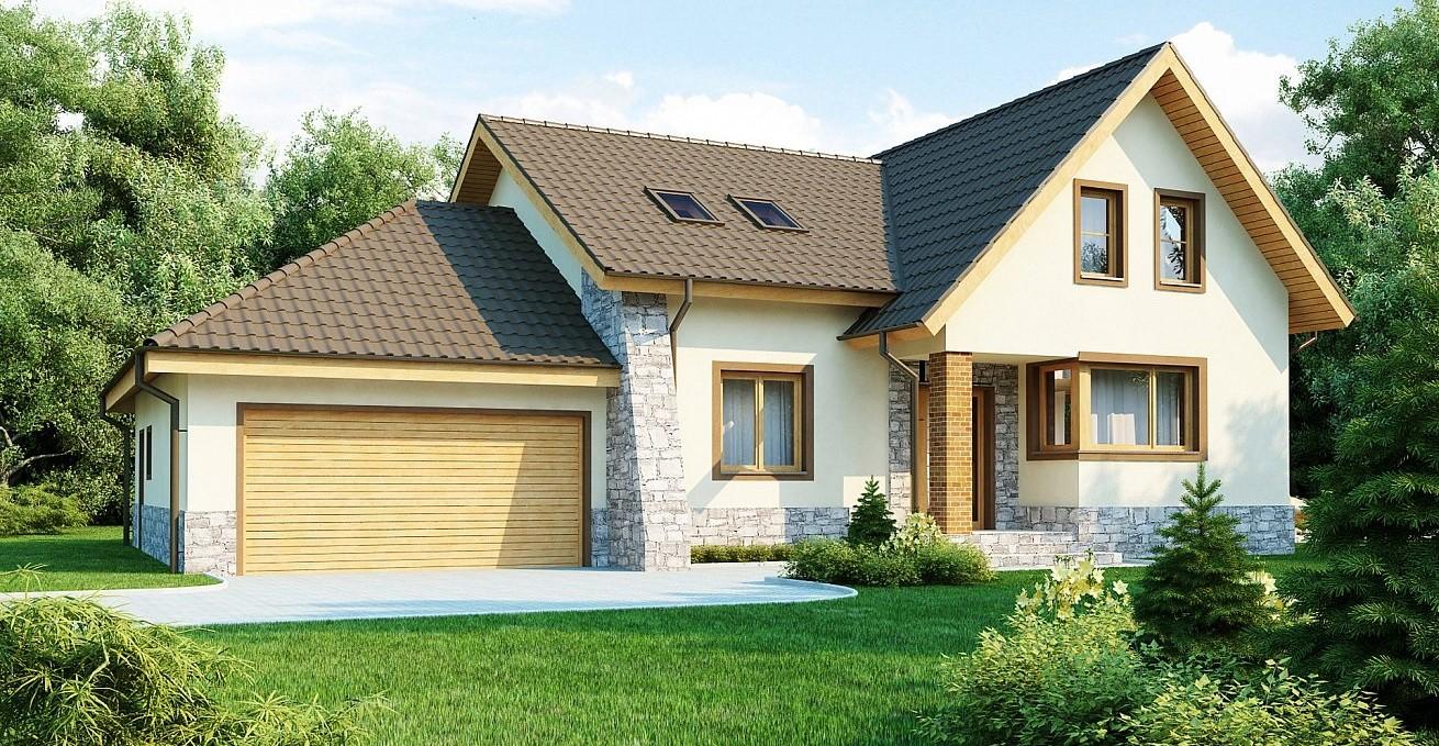 двуетажна сглобяема къща на ниски цени