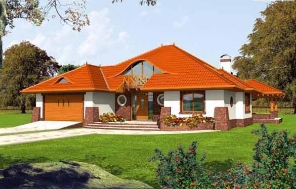 модерна сглобяема къща от метална конструкция