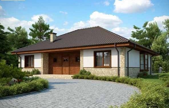 компактна сглобяема къща