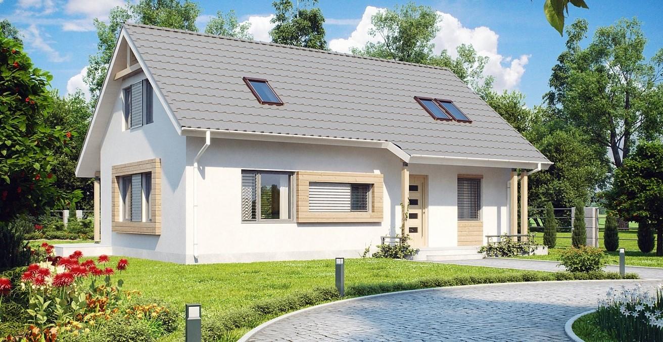 Модерна фамилна къща от метална конструкция
