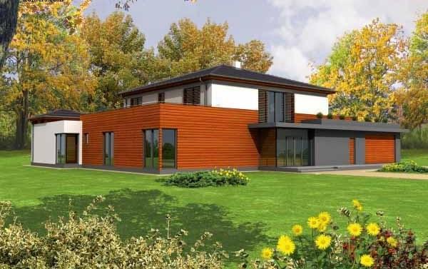модерна сглобяема къща