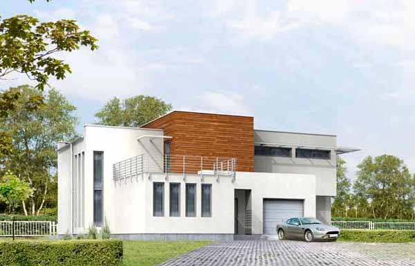 модерни сглобяеми къщи с метална конструкция