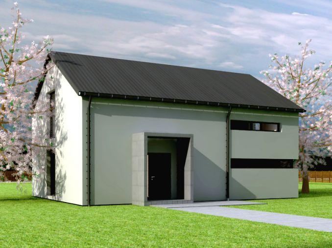 минималистична екологична къща