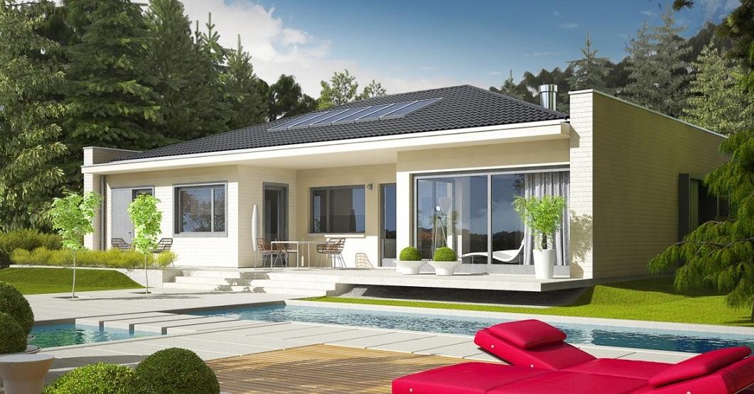 луксозна сглобяема къща