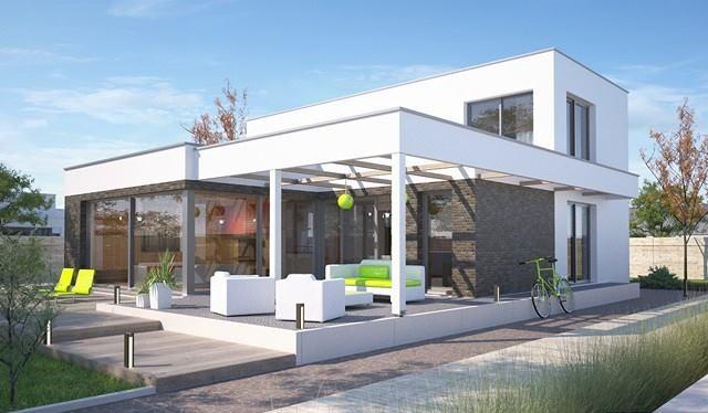 минималистична сглобяема къща