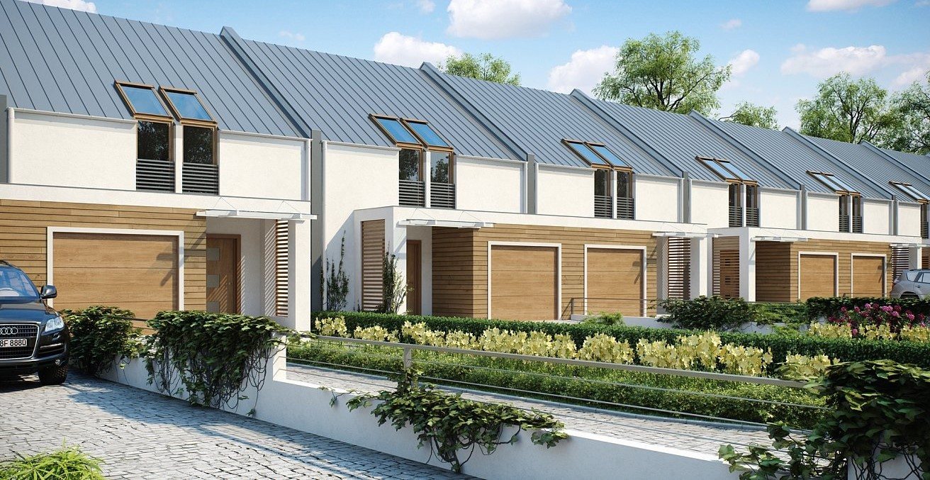 Редови къщи от сглобяема конструкция